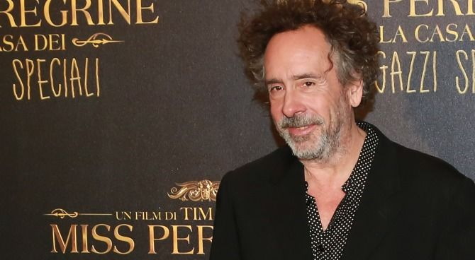 Miss Peregrine: Tim Burton in esclusiva sul red carpet a Roma