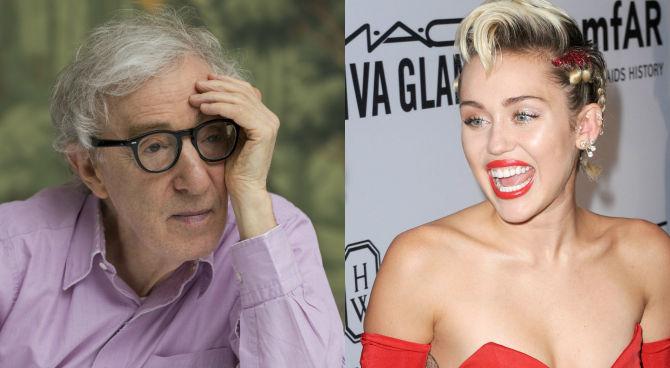 Woody Allen e Miley Cyrus, insieme in una serie TV per Amazon