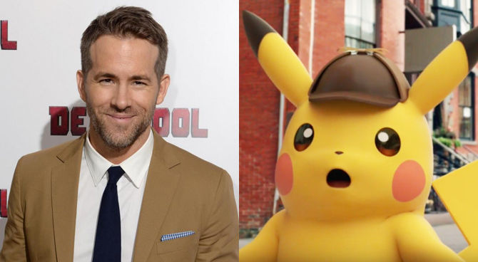 Detective Pikachu, Ryan Reynolds protagonista del film sui Pokemon