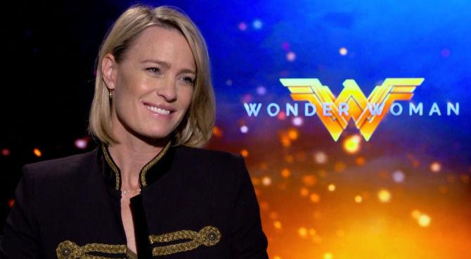 Wonder Woman: videointervista a Robin Wright, da First Lady a guerriera amazzone