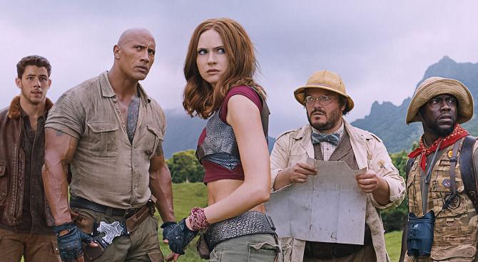 Dwayne Johnson nel nuovo trailer italiano di Jumanji: Benvenuti nella Giungla