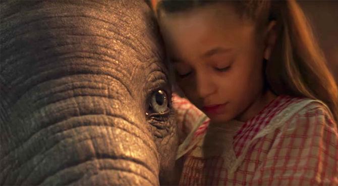 È uscito il trailer di Dumbo, il nuovo film di Tim Burton