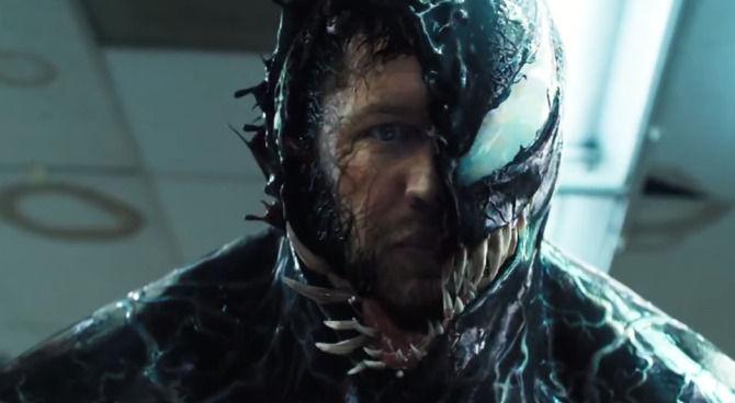 Tom Hardy nel nuovo accattivante trailer di Venom